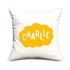 Cloud personalised cushion cover (various colours)