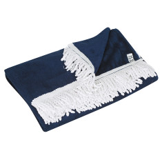 Classic cape cod towel in true navy