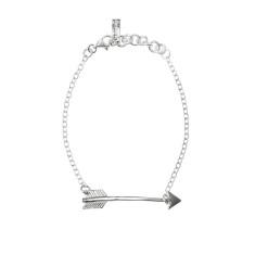 Arrow Cuff Bracelet in Sterling Silver