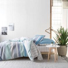 Alorto blue quilt cover set