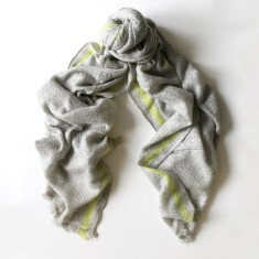 Kings Road Scarf in Lime