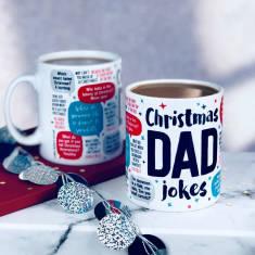 Christmas Dad Jokes Mug