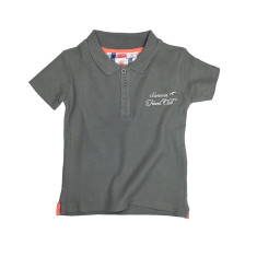 Piqué knit polo shirt
