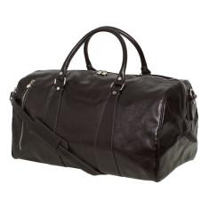 Nardi Leather Weekender Bag in Black