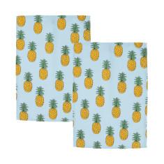 Woouf Kitchen Tea Towel Pineapple (pack of 2)