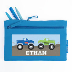 Personalised Monster Truck Pencil Case