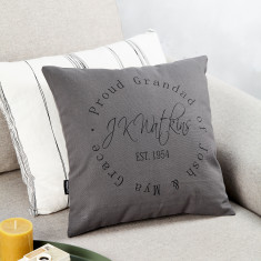 Personalised Signature Stamp Design Cushion