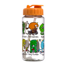 Tyrrell Katz Monster Drink Bottle with Straw