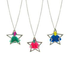 Tassel star pendant