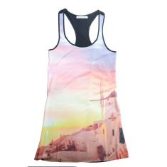Santorini singlet dress