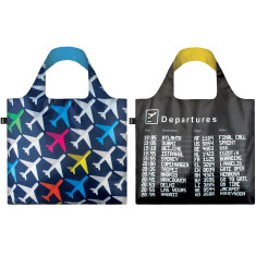 LOQI airport collection reusable bag (various designs)