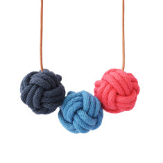 Kyoto nautical knot necklace
