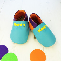 Mix 'n' match colour pop baby shoes