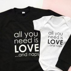 All you need is Love and Naps Set