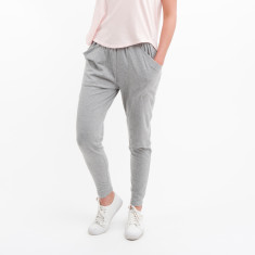 Cotton Lounge Pant in Grey Marle