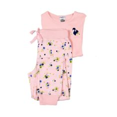 Daisy floral track style pyjama set