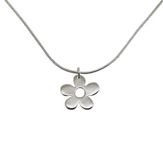 Little daisy sterling silver necklace
