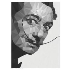 Geometric Dali art print