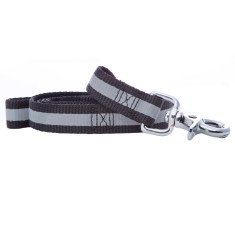 Kings Cross Reflective Nylon Lead In Black