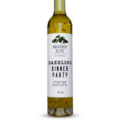 Dazzling dinner party 23 carat gold oil