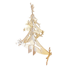 Christmas tree flat pack