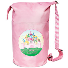 Personalised princess castle swim bag