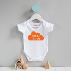 Dream big little one cloud grow suit
