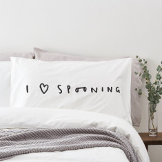 I love spooning pillowcase