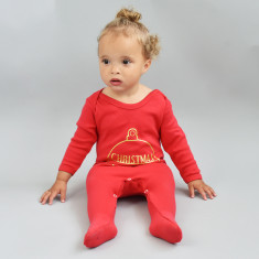 Christmas With The Personalised Baby Romper Sleepsuit
