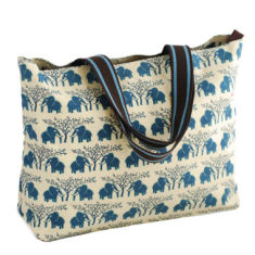 Tamelia cotton canvas Ellie tote bag