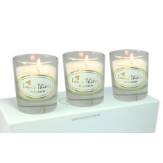 Laguiole Maison Louis Thiers 3-piece aromatic candle set