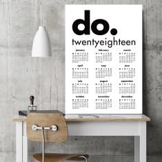 Do! 2018 calendar art print (various sizes)