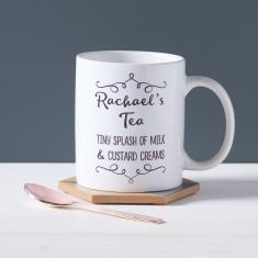 Personalised Perfect Coffee/Tea Mug