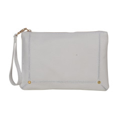 Amy White Clutch Bag