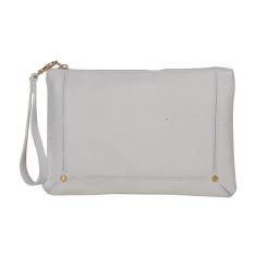 Amy White Clutch Bag