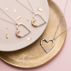 Personalised Secret Heart Necklace