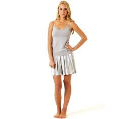 Ici et la night shorts in pebble & white