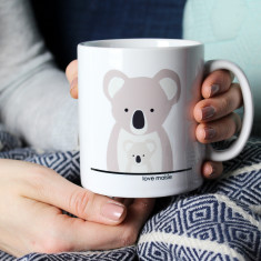 Koala Mummy/Daddy And Me, Personalised Mug