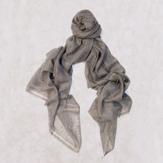 Cashmere Scarf in Almond