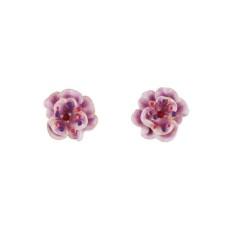 Simple Wild Rose Earrings