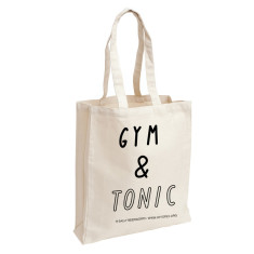Gym & tonic tote bag