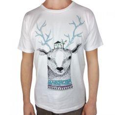 Deer house tee