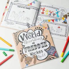 The World According To... Personalised Child's Journal