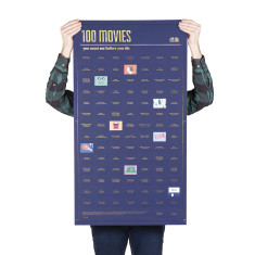 DOIY 100 movies to watch poster