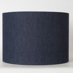 Denim lampshade/pendant shade