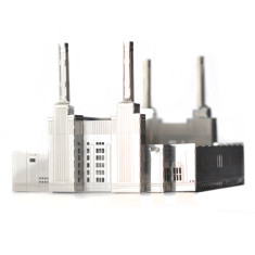 MONUmini stainless steel architecture model - Battersea power station