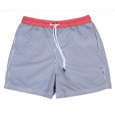 Zephyr blue men's swim shorts