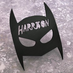 Personalised Batman mask