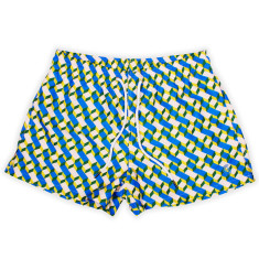 A pottery gorilla print swim shorts