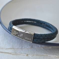 Men's constellation bracelet